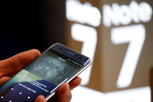 Samsung est dans la tourmente depuis qu'il a... (REUTERS)