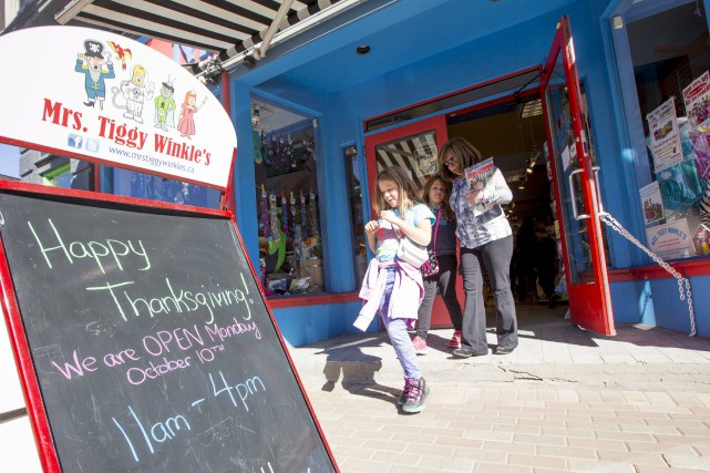 Le magasin de jouets Mrs.TiggyWinkle's était l'un de... (Simon Séguin-Bertrand, LeDroit)