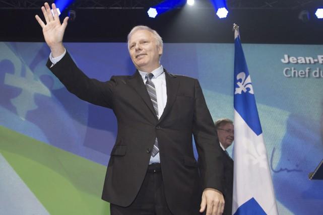 Le nouveau chef du Parti québécois, Jean-François Lisée.... (La Presse canadienne)