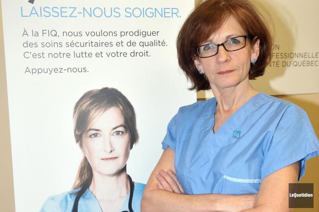 Martine Côté... (Archives Le Quotidien, Rocket Lavoie)