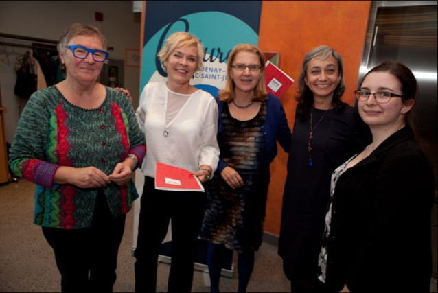 L'uMarcelle Dubé, Véronique Villeneuve, Danielle Maltais, Constanza Camilo... (Photo courtoisie)