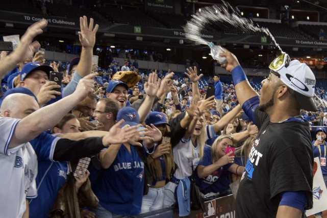 Les Blue Jays ont défait les Rangers du... (Photo USA Today Sports)