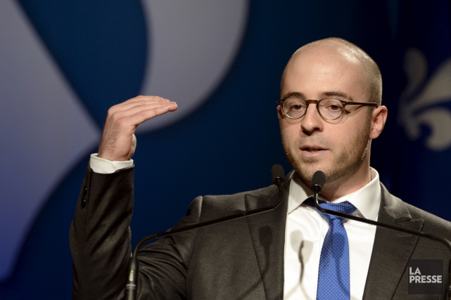 Le chef d'Option nationale, Sol Zanetti,souligne que des... (PHOTO BERNARD BRAULT, ARCHIVES LA PRESSE)