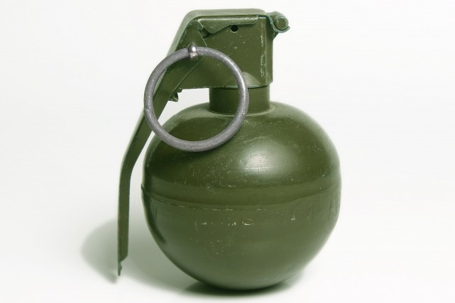 Grenade... (Getty Images/iStockphoto)