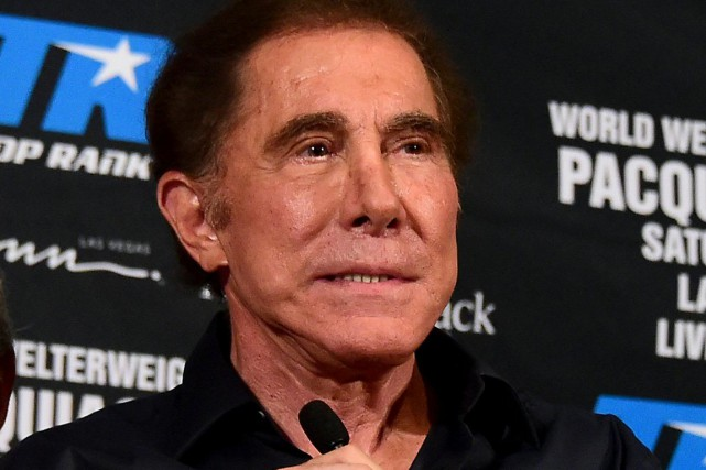 Steve Wynn, chef de la direction de Wynn... (Photo archives AFP)