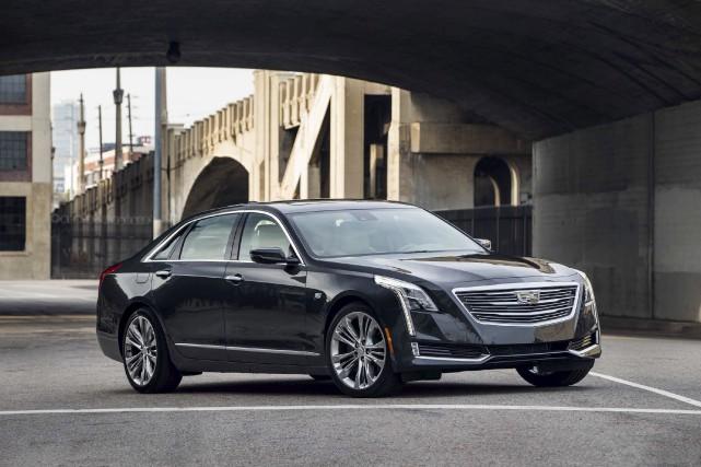 Le Cadillac CT6 2016... (Fournie par Cadillac)