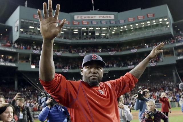 L'élimination des Red Sox signifie la fin de... (AP, Charles Krupa)
