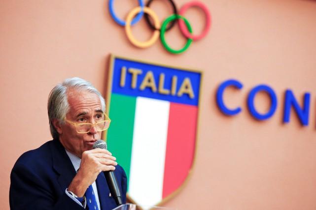 Le président du Comité olympique italien, Giovanni Malago.... (Photo Tony Gentile, REUTERS)