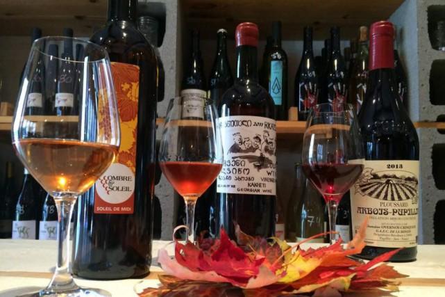 Le Moine Échanson propose aux amateurs de vin... (Photo fournie par le Moine échanson)