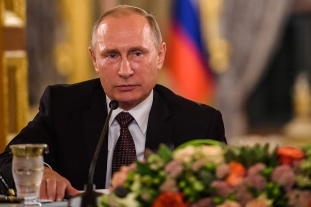 Le président russe Vladimir Poutine.... (Photo Ozan Kose, AFP)