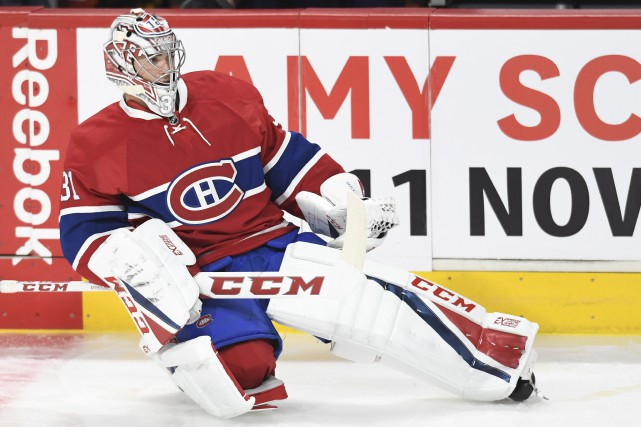 Carey Price... (Photo Bernard Brault, La Pressse)