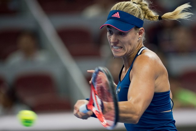 Angelique Kerber... (Photo Nicolas Asfouri, AFP)