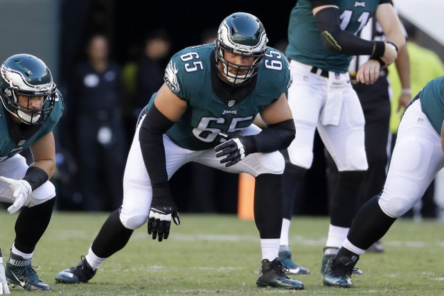 Lane Johnson... (Photo Chris Szagola, AP)