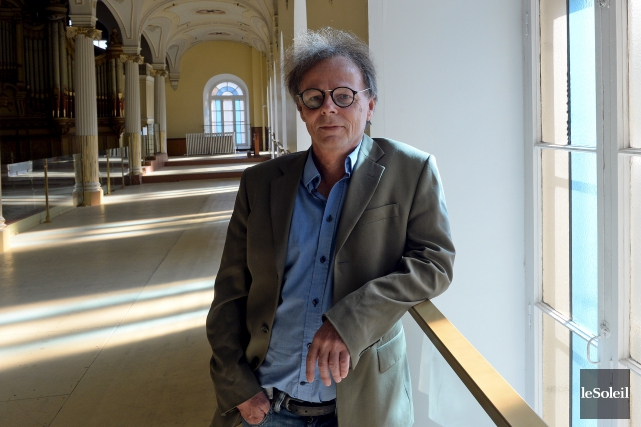 Charles Rice, vice-président de La Nef Coop située... (Le Soleil, Erick Labbé)
