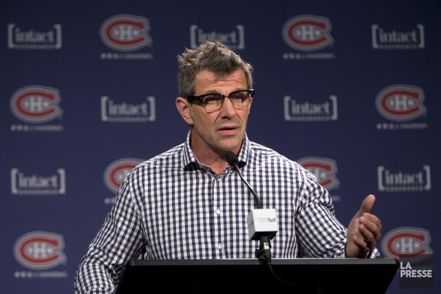 Le directeur général du Canadien, Marc Bergevin,ne s'est... (Photo Olivier Jean, archives La Presse)
