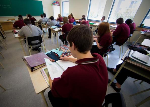 «On dénombrait 285 écoles indépendantes sur le territoire... (Photo André Pichette, archives La Presse)