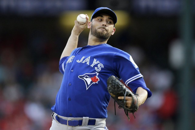 Marco Estrada... (Photo LM Otero, AP)