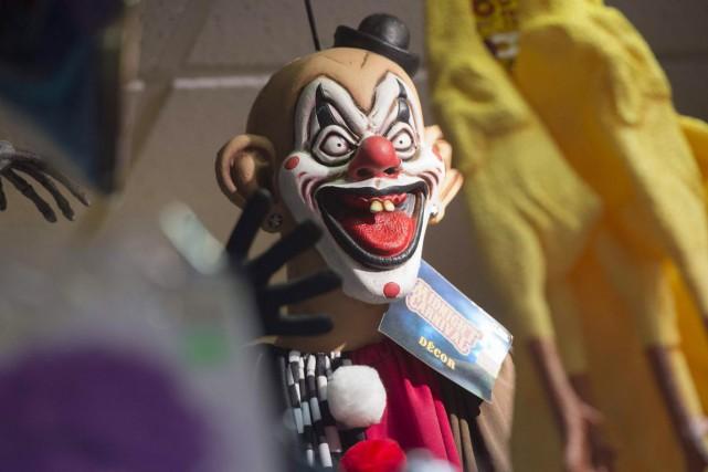 Une enquête liée à un autre adolescent adepte des clowns sinistres a été... (Saul Loeb, Archives AFP)