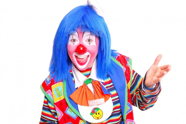 Kitty le clown ne rit plus. «Le téléphone... (Courtoisie)