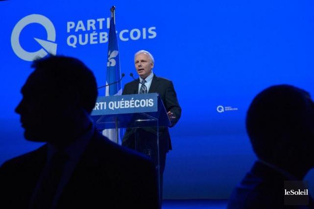Le nouveau chef du PQ Jean-François Lisée... (Le Soleil, Yan Doublet)