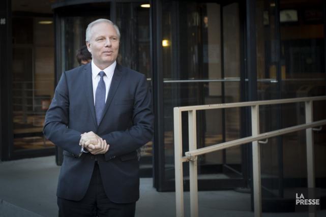 Le nouveau chef du Parti québécois Jean-François Lisée... (PHOTO OLIVIER JEAN, LA PRESSE)