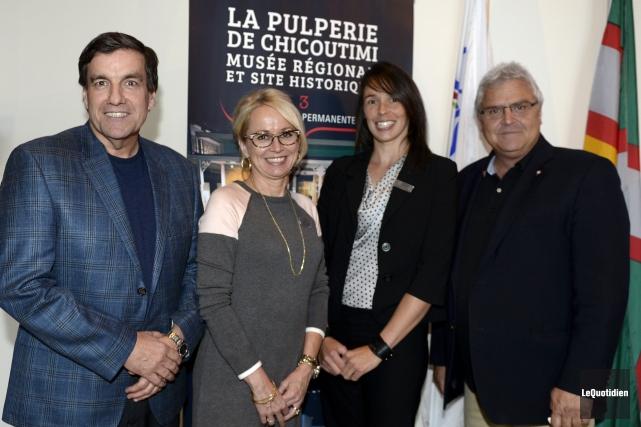 Le député libéral fédéral Denis Lemieux et le... (Photo Le Quotidien, Jeannot Lévesque)