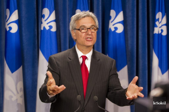 Le leader parlementaire du gouvernement, Jean-Marc Fournier,a soutenuun... (Photothèque Le Soleil)