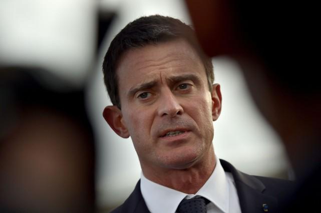 Le premier ministre français Manuel Valls visitera le... (Loic Venance, Archives AFP)