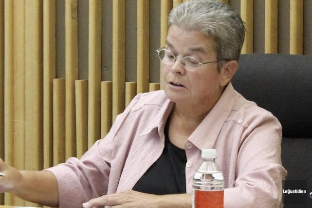 Doris Lavoie, mairesse d'Hébertville.... (Archives Le Quotidien)