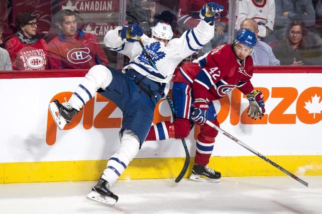 Alors que tout semblait gagné, Sven Andrighetto (42)... (La Presse canadienne, Paul Chiasson)