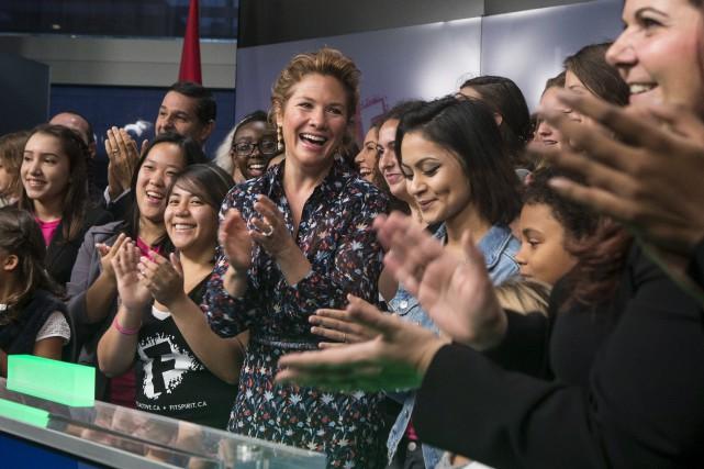 Sophie Grégoire Trudeau... (La Presse canadienne, Chris Young)