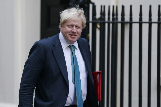 Boris Johnson, né à New York, figure sur... (photo archives AFP)