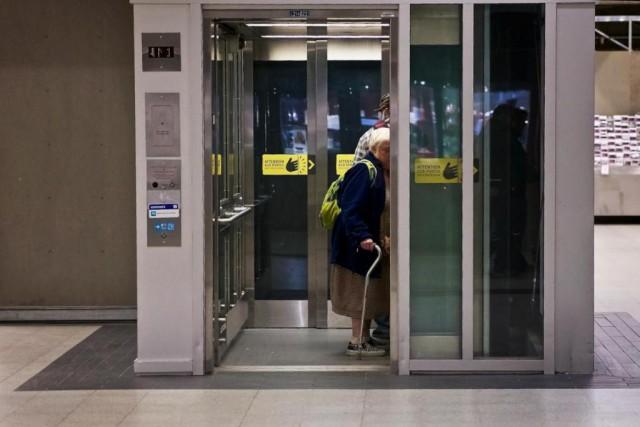 À l'heure actuelle, il y a un ascenseur... (Photo André Pichette, Archives La Presse)