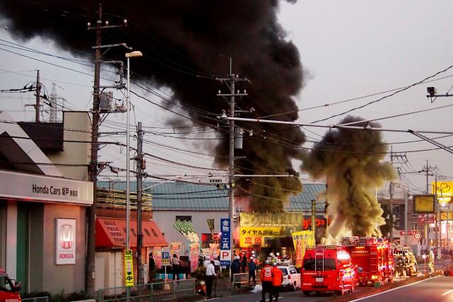 La panne pourrait provenir d'un incendie dans un... (REUTERS)