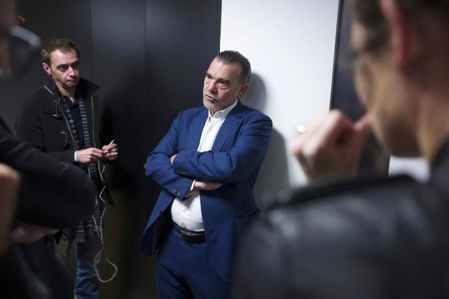 L'avocat français de Salah Abdeslam, Frank Berton, explique... (photo Michel Spingler, AP)