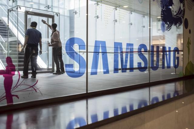 Le siège social de Samsung est situé dans... (AFP, Ed Jones)