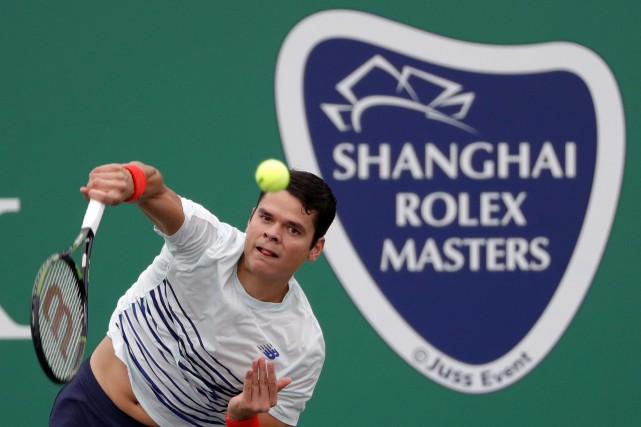 Milos Raonic... (Photo Andy Wong, AP)