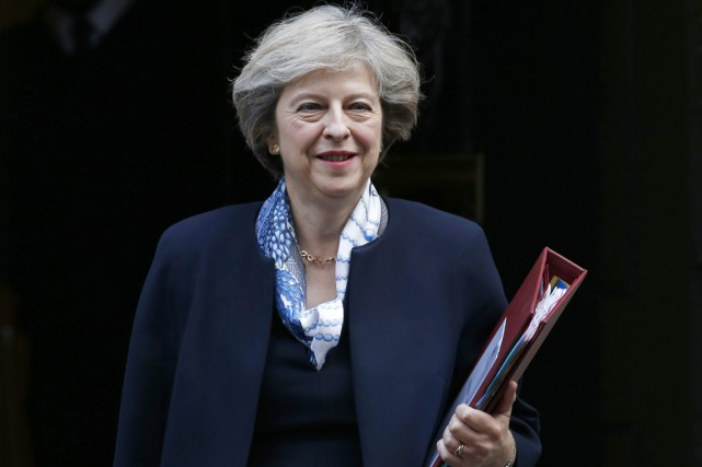La première ministre Theresa May accuse les instigateurs... (photo Alastair Grant, AP)