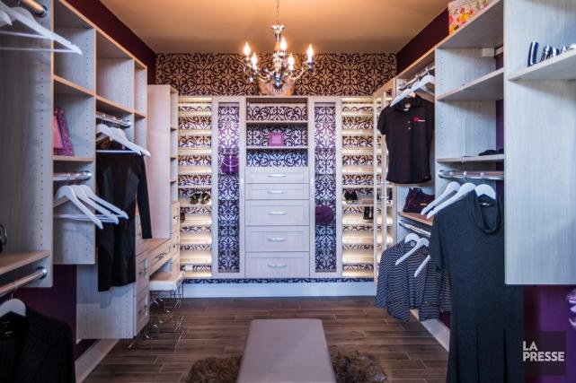 «Aménager un walk-in, c'est comme créer une cuisine ou une salle de... (PHOTO OLIVIER PONTBRIAND, LA PRESSE)