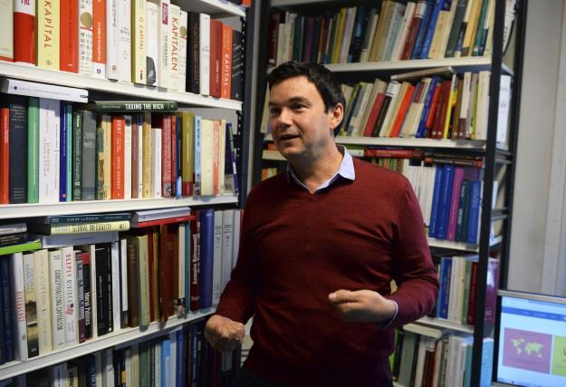 L'économiste français Thomas Piketty, le 11 octobre 2016... (AFP, Éric Piermont)