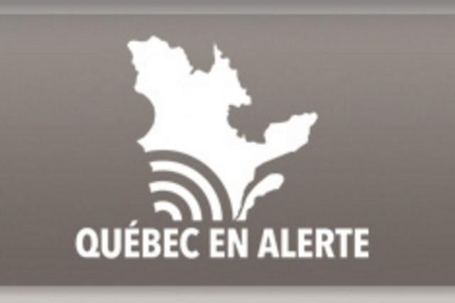 Le ministère de la Sécurité publique (MSP) a annoncé un test de son système... (Tirée du site de la Sécurité publique du Québec)