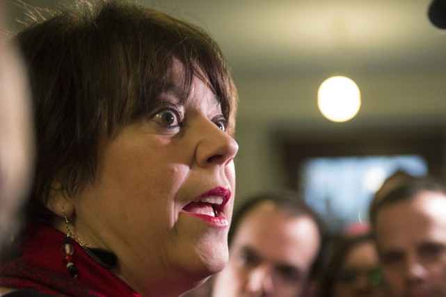 Se disant extrêmement préoccupée et choquée par divers... (PHOTO Jacques Boissinot, archives La Presse canadienne)