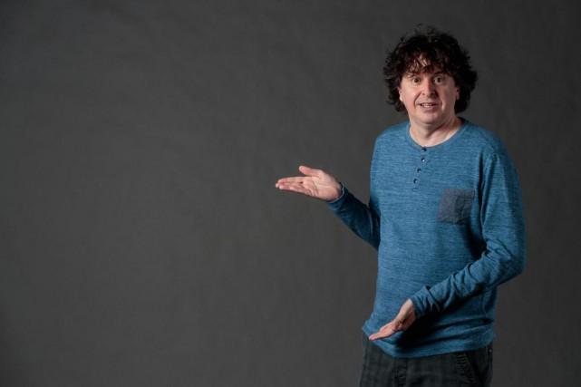 Cette semaine, l'humoriste, auteur et scénaristeYves P. Pelletier... (PHOTO HUGO-SéBASTIEN AUBERT, LA PRESSE)