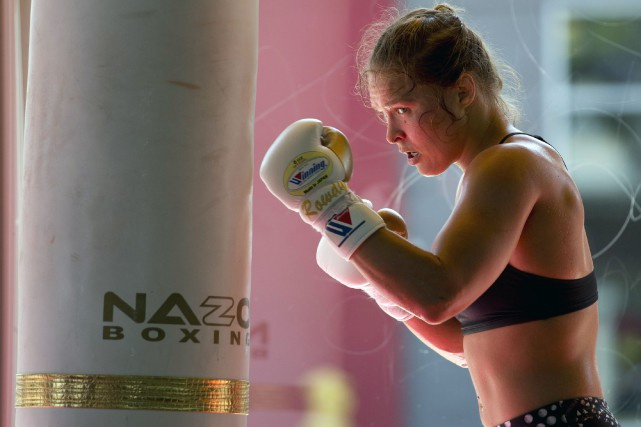 Ronda Rouseyn'a pas combattu depuis novembre 2015.... (Photo Jae C. Hong, archives AP)