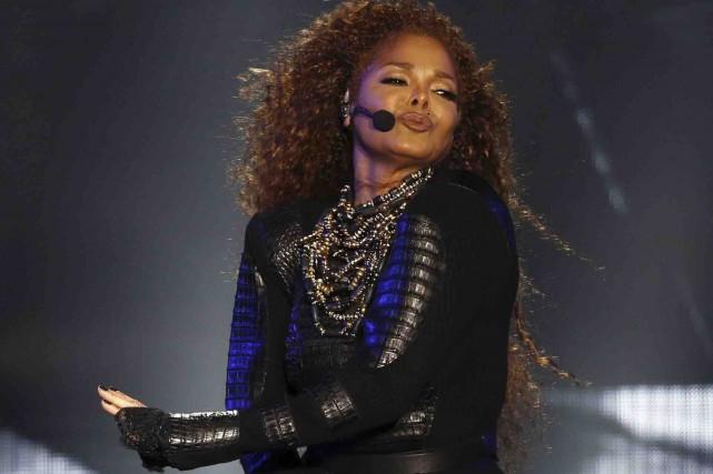 La chanteuse américaine Janet Jackson a confirmé mercredi être enceinte de son... (AFP, Karim Sahib)