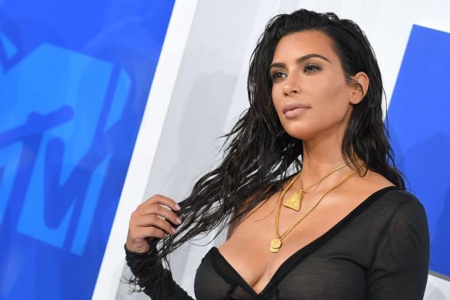 Kim Kardashian West... (Archives AFP)