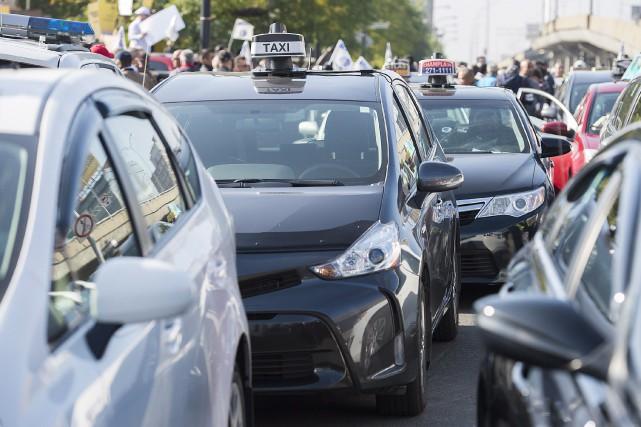 Québec a tout simplement laissé tomber le taxi... (La Presse Canadienne, Graham Hugues)