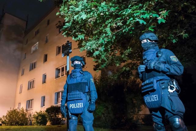 Les forces de l'ordre avaient trouvé 1,5 kilo... (AFP)
