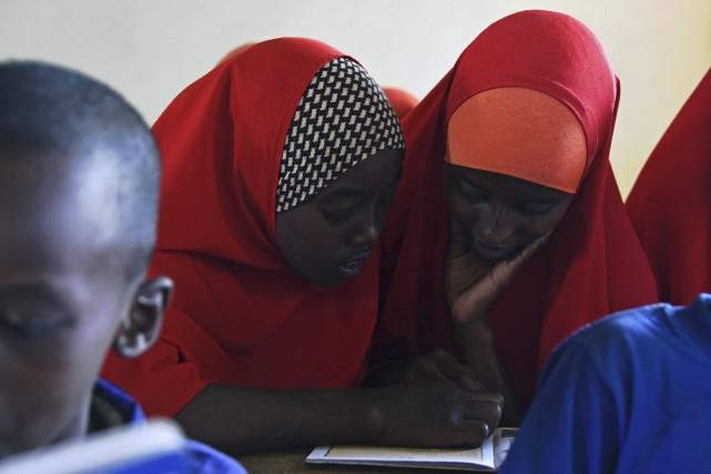 Mariée à 13 ans, rien ne prédestinait Halima... (AFP, Nicolas Delaunay)