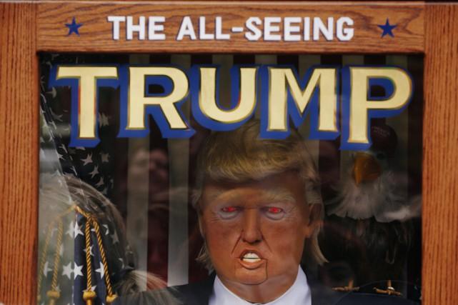 Parmi les nombreux avatars de Donald Trump qu'a engendrés la campagne... (PHOTO REUTERS)